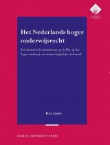 Het Nederlands hoger onderwijsrecht