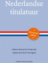 Cover Nederlandse titulatuur