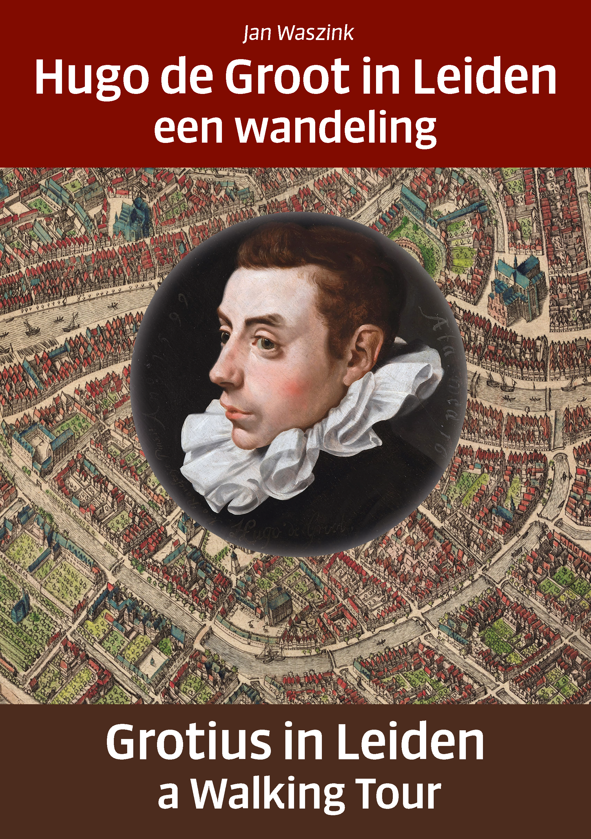Cover Hugo de Groot in Leiden
