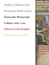 Cover Vernacular Manuscript Culture 1000-1500
