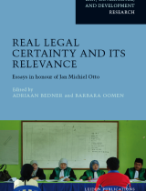 Cover Real Legal Certainty and its Relevance