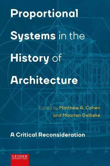 Cover Proportional Systems in the History of Architecture