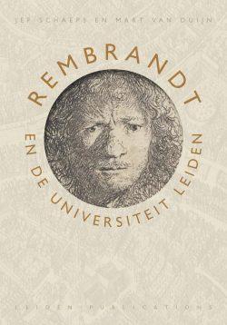 Cover Rembrandt en de Universiteit Leiden